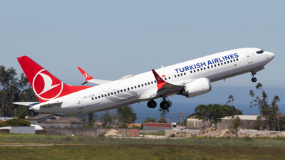 A picture of TCLCK - Boeing 737 MAX 8 - Turkish Airlines - © Daniel Filipe Pereira