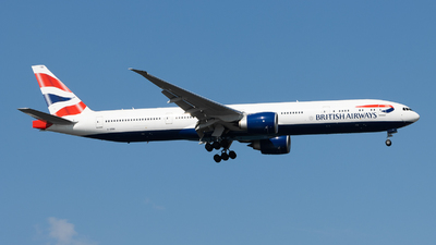 A picture of GSTBO - Boeing 777300(ER) - British Airways - © Theodore Chan