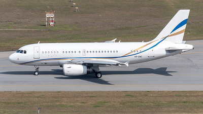 VP-CNC - Airbus A319-133X(CJ) - Asia United Business Aviation