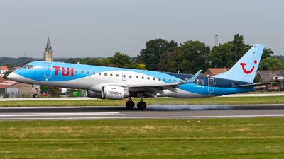 A picture of OOJEM - Embraer E190STD - TUI fly - © Alexandre Raineau