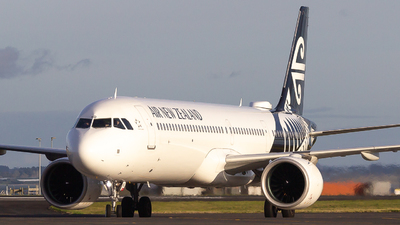 A picture of ZKNND - Airbus A321271NX - Air New Zealand - © Lukasz Swain