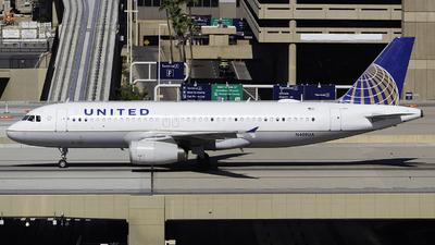 N409UA - Airbus A320-232 - United Airlines