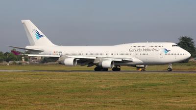 EC-MRM - Boeing 747-4H6 - Garuda Indonesia (Wamos Air)