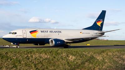 A picture of GJMCP - Boeing 7373T0(SF) - West Atlantic UK - © Junaid K