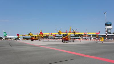EHGG - Airport - Ramp