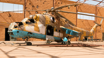 TZ-407 - Mil Mi-24D Hind D - Mali - Air Force