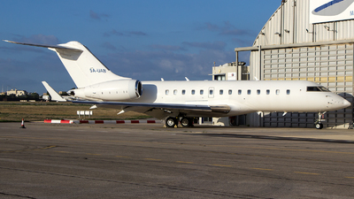 5A-UAB - Bombardier BD-700-1A11 Global 5000 - United Aviation