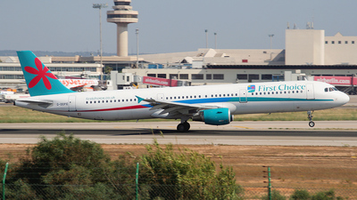 G-OOPE - Airbus A321-211 - Thomson Airways
