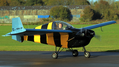 A picture of GAWJE - Slingsby T.66 Mk.III Nipper - [S121] - © Dave Marshall