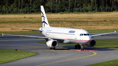 A picture of SXDVH - Airbus A320232 - Aegean Airlines - © Günther Feniuk