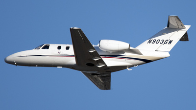 N903GW - Cessna 525 Citation CJ1 - Private