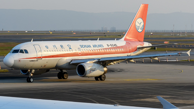 B-6045 - Airbus A319-133 - Sichuan Airlines