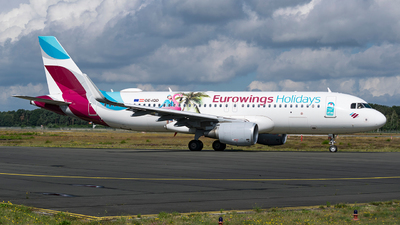 A picture of OEIQD - Airbus A320214 - Eurowings - © Sam Albers