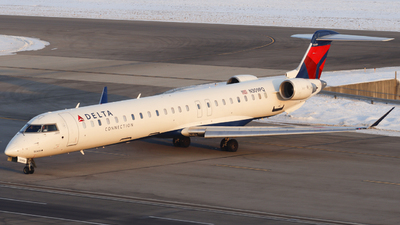 A picture of N309PQ - Mitsubishi CRJ900LR - Delta Air Lines - © Nick Neiger