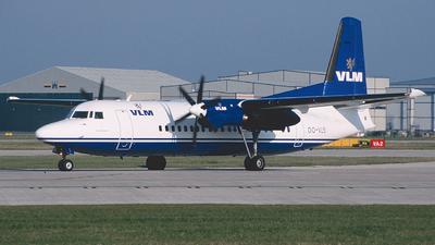 OO-VLS - Fokker 50 - VLM Airlines