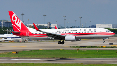 B-1989 - Boeing 737-89P - China United Airlines