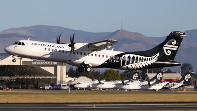 A picture of ZKMVO - ATR 72600 - Air New Zealand - © Cameron Matthews