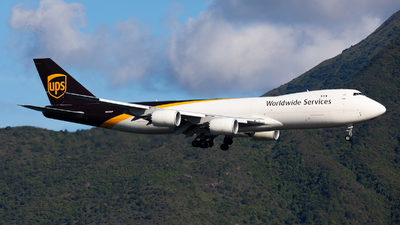A picture of N610UP - Boeing 7478F - UPS - © Colin Law