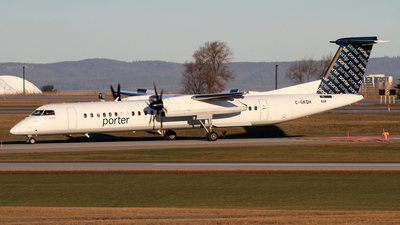A picture of CGKQH - De Havilland Canada Dash 8400 - Porter Airlines - © Daniel Lapierre Forget