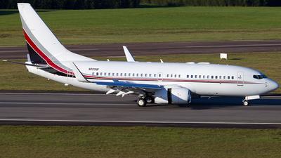 N721UF - Boeing 737-7BC(BBJ) - Private