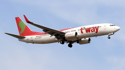 HL8047 - Boeing 737-8BK - T'Way Air