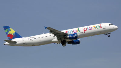 D-ASPC - Airbus A321-211 - Small Planet Airlines Germany