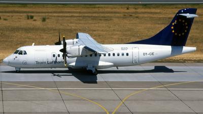 OY-CIE - ATR 42-300 - Team Lufthansa (Cimber Air)