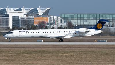 A picture of DACKJ - Mitsubishi CRJ900LR - Lufthansa - © Thomas Ernst