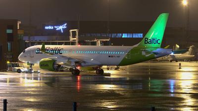 YL-ABF - Airbus A220-371 - Air Baltic