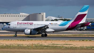 D-AGWB - Airbus A319-132 - Eurowings