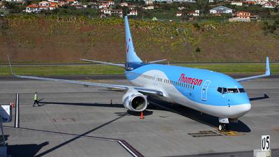 G-TAWP - Boeing 737-8K5 - Thomson Airways