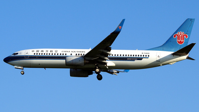 B-5420 - Boeing 737-81B - China Southern Airlines