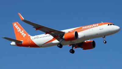 G-UZHS - Airbus A320-251N - easyJet