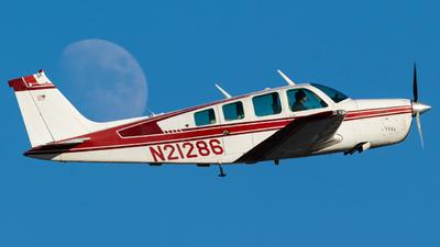 N21286 - Beechcraft A36 Bonanza - Private