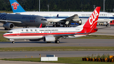 A picture of B209G - Boeing 73789P - China United Airlines - © yiran