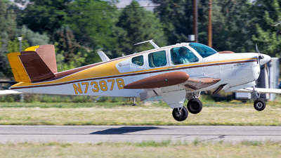 N7387B - Beechcraft E35 Bonanza - Private