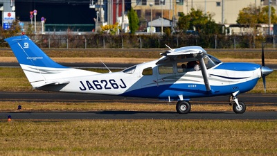 JA626J - Cessna T206H Stationair TC - Kyoritsu Air