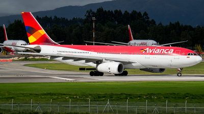 N973AV - Airbus A330-243 - Avianca