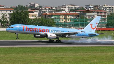 G-BYAN - Boeing 757-204 - Thomsonfly