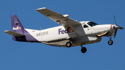 N855FE - Cessna 208B Super Cargomaster - FedEx Feeder (Mountain Air Cargo)