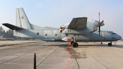 707 - Antonov An-32B - Croatia - Air Force