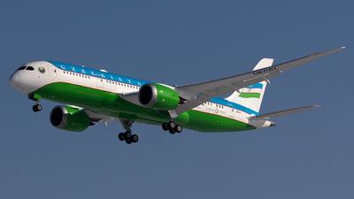 A picture of UK001 - Boeing 7878 Dreamliner - Uzbekistan Airways - © Sardor Durumov