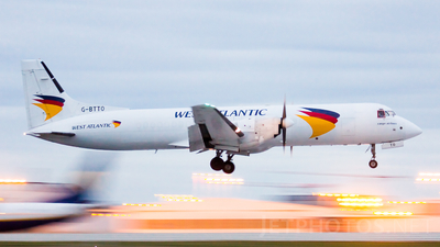 G-BTTO - British Aerospace ATP-F(LFD) - West Atlantic Airlines
