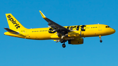 N621NK - Airbus A320-232 - Spirit Airlines