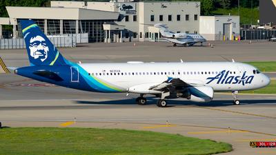 N635VA - Airbus A320-214 - Alaska Airlines