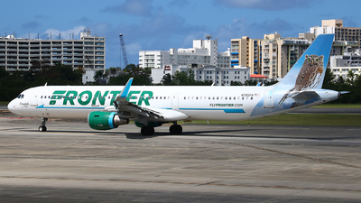 A picture of N705FR - Airbus A321211 - Frontier Airlines - © Angel Natal