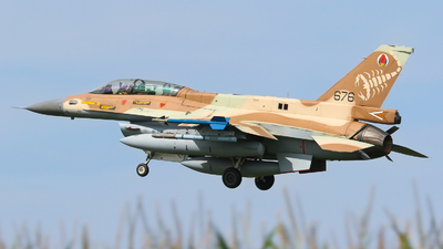 676 - General Dynamics F-16D Barak - Israel - Air Force
