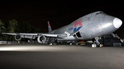 G-MKGA - Boeing 747-2R7F(SCD) - MK Airlines