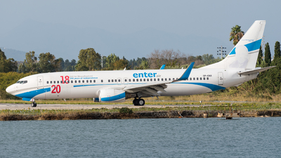 SP-ENX - Boeing 737-8Q8 - Enter Air