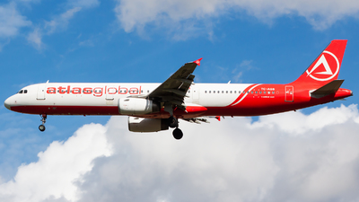 A picture of TCAGS - Airbus A321231 - AtlasGlobal - © Gastrospotter